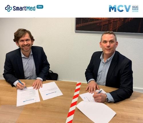 SmartMed en MCV Nederland tekenen contract